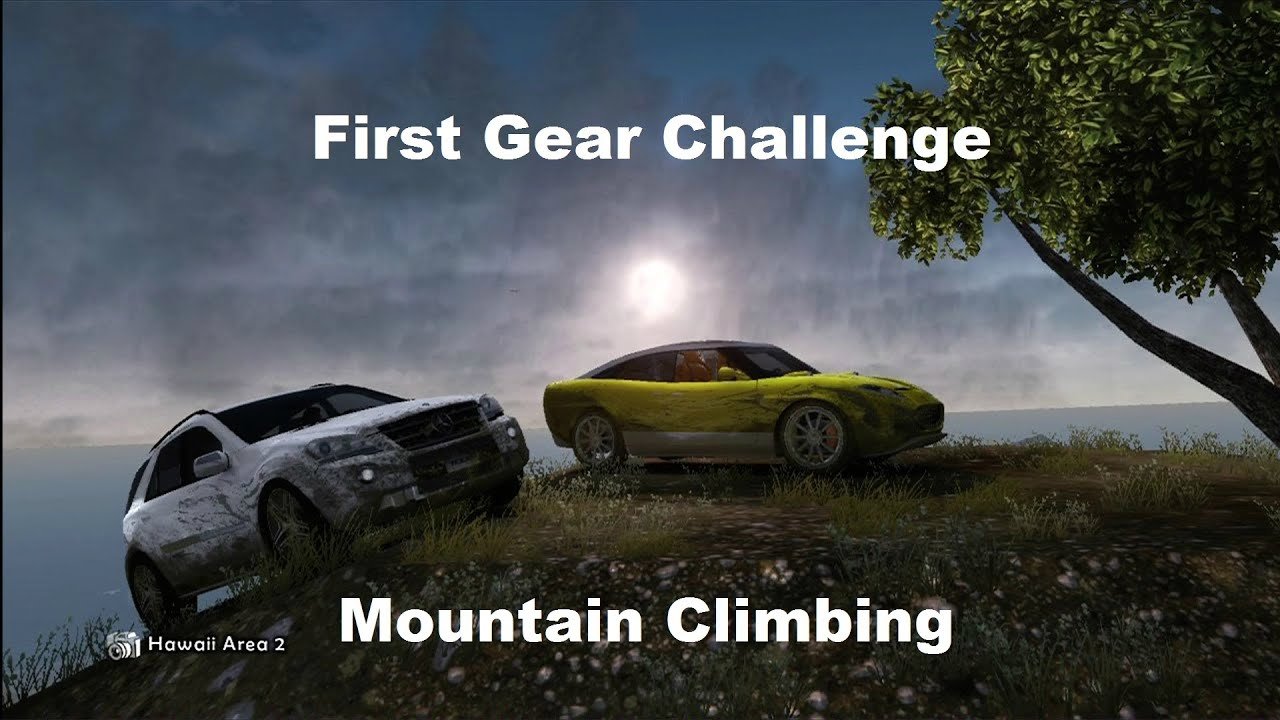 Mountain Climbing Challenge First Gear Challenge Mountain