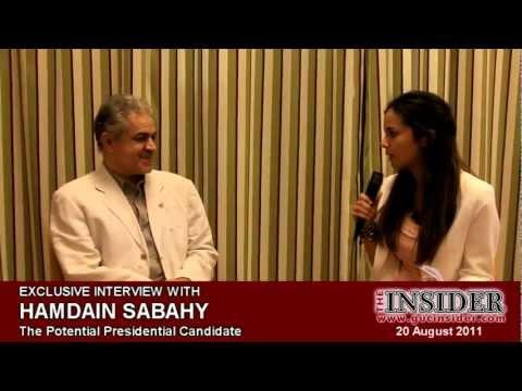 Hamdeen Sabahy Talks About The Egyptian Student Union