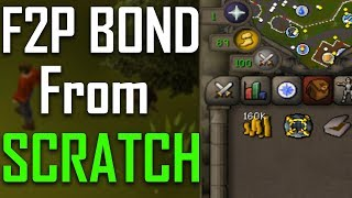 F2P Bond From Scratch in One Sitting (only took 18 hours, lol) - OSRS Challenge