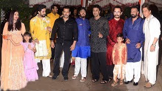 Ambani's GRAND Ganpati 2017 Party Full Video HD - Salman,Aishwarya,Ranbir,Shahrukh,Aamir