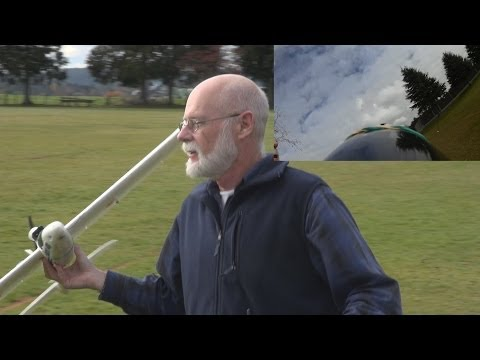 Wickedly dangerous RC plane flying