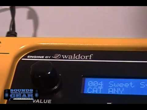 NAMM 2012 Studiologic Sledge Polyphonic synth powered by Waldorf