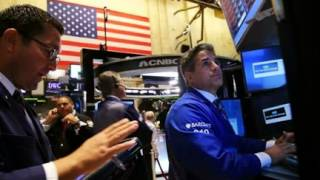 DOW DIVES GLOBAL GROWTH FEARS SPOOK MARKETS