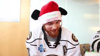 Hershey Bears players visit children at Penn State Children's Hospital