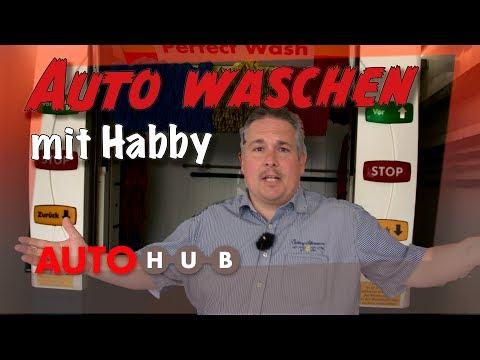 Auto waschen mit Habby  (Werbung)