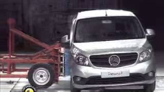 Mercedes-Benz Citan in de EuroNCAP crashtest