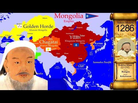 Peta Sejarah Imperium Mongolia - History Map Mongol Empire