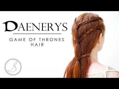 Game of Thrones Hair - Daenerys Targaryen #1