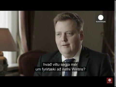 Премьер-министр Исландии прервал интервью на вопросе о его офшорке