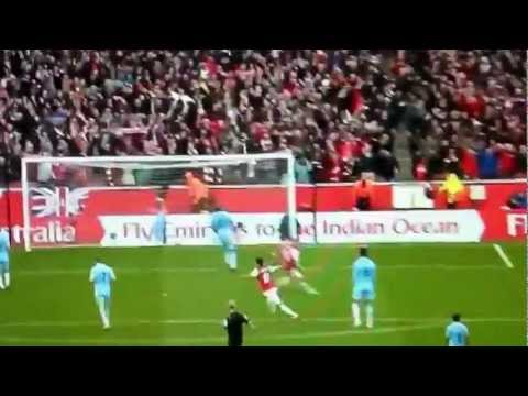 Arsenal v. Manchester City 1-0 8/4/2012
