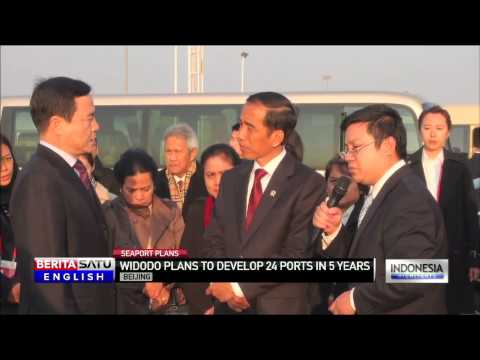 Indonesia President Widodo Plans to Develop 24 New Seaports in Maritime Push