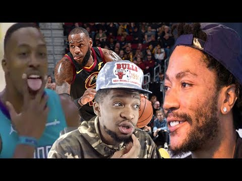 LET'S TALK ABOUT D ROSE... CAVS vs HORNETS HIGHLIGHTS REACTION!
