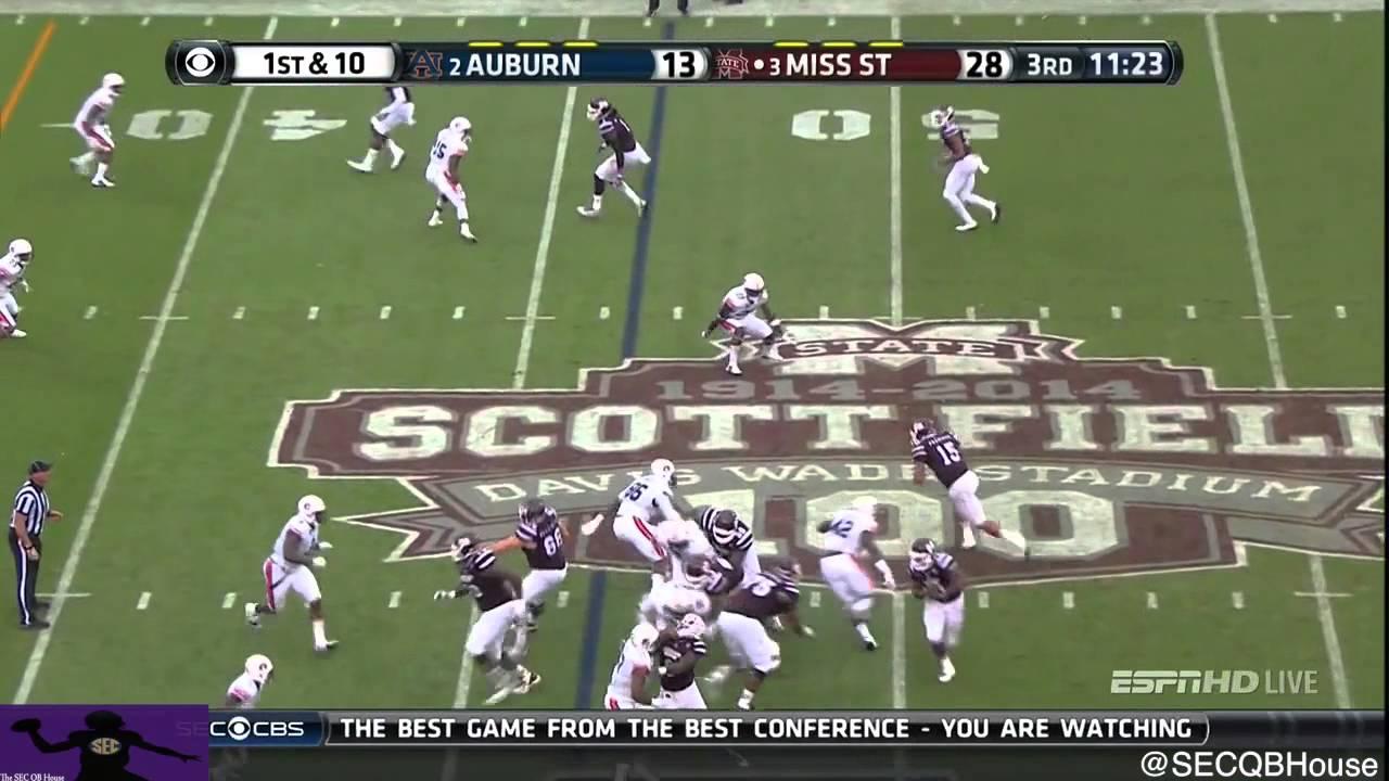 Dak Prescott vs Auburn (2014)