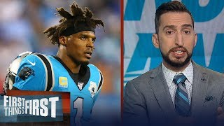 If Panthers move on from Cam, they'll be drafting a QB in 2021 —Nick | NFL | FIRST THINGS FIRST