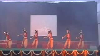 Saraswati Vandana - Maa Saraswati Sharde Performance ( Annual Function 2008 )