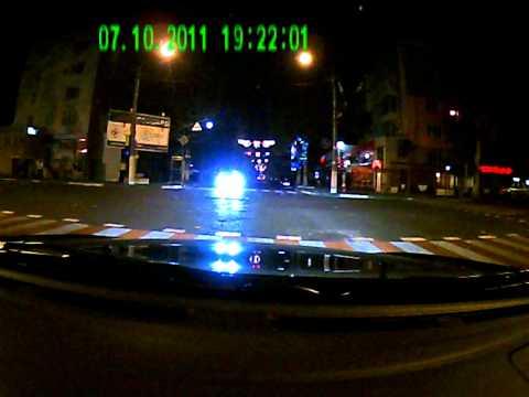 Легкая вечерняя прогулка на S2000. Дорожный траффик.