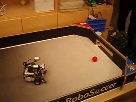 lego mindstorms NXT robots football
