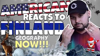 American REACTS // Geography Now! Finland