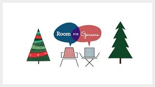 Christmas Tree: Real Or Fake? | Happy Holidays | Room For Opinions
