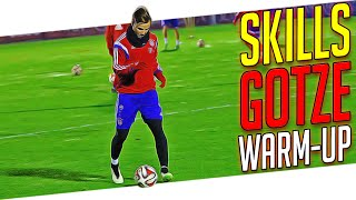 Mario Götze Skills - Crazy Football Soccer Skill Move Tutorial