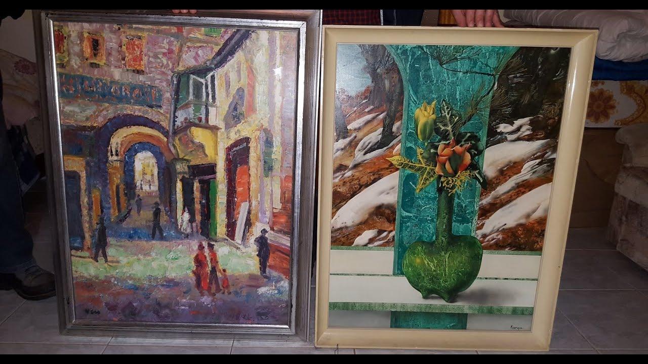 Értékes festményeket loptak, keresik a tulajdonosokat   - videó