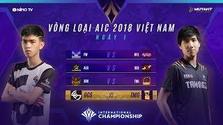 VÒNG LOẠI AIC 2018  - Ngày 1 [23.11.2018] - Garena Liên Quân Mobile