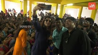 Manchu Lakshmi WO Ram Movie Promotions at Narsimha Reddy Engineering College