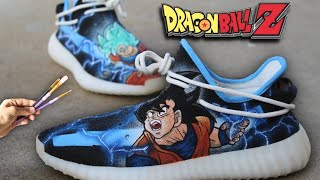 Custom Dragon Ball Z Yeezys!