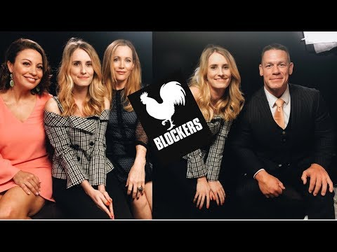 Blockers Interviews: John Cena, Leslie Mann, Kay Cannon