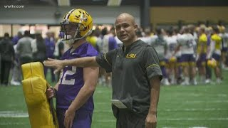 Dave Aranda, LSU defensive coordinator, leaving for Baylor HC position