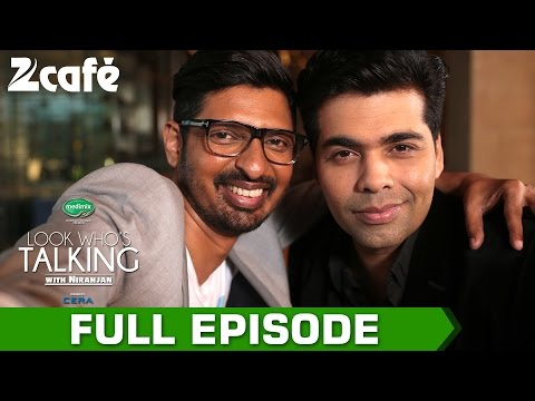 Look Who's Talking with Niranjan Iyengar - Karan Johar - Full Episode - Zee Cafe
