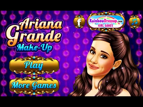 Celebrity Games- Ariana Grande Makeup- Free Online Fashion ...