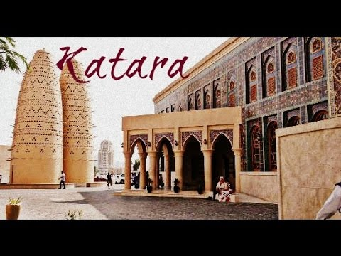 Katara Cultural Village and Beach feat. Classical Music 1812 by Tchaikovsky