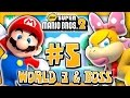 New Super Mario Bros 2 3DS - World 3 & Boss (2/2) (2 Player) 100%