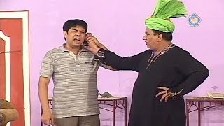 Nasir Chinyoti and Naseem Vicky Stage Drama Chalis Chor Full Comedy Clip