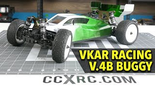 VKAR Racing v.4B 4WD RC Buggy UNBOXING & In-Depth Look