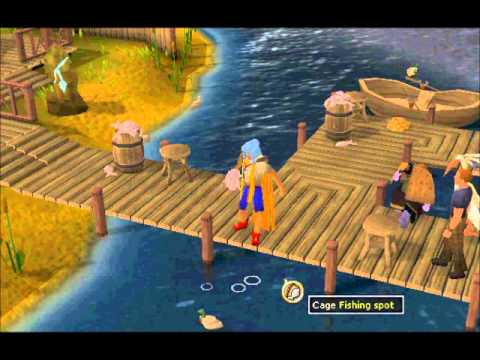 RuneScape 1-99 Fishing Guide with profit!