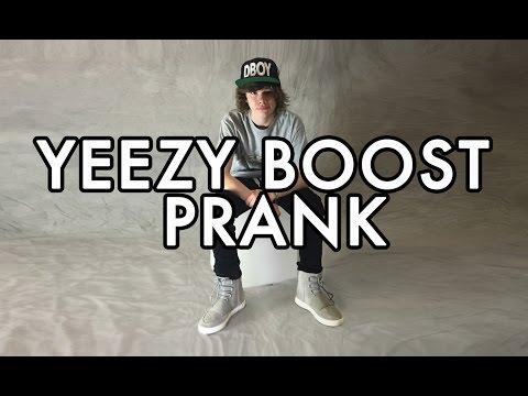 Adidas Kanye West YEEZY BOOST 750 Unboxing Prank