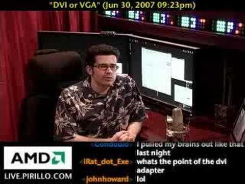 DVI vs VGA - Видео