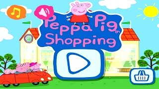 Peppa Pig Shopping | Peppa Pig Games | Peppa Pig Shopping Gameplay | Best Peppa app demo for kids