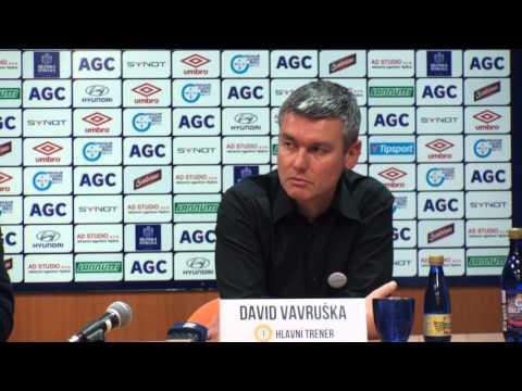 Tisková konference domácího trenéra po zápase s Libercem (27.2.2016)