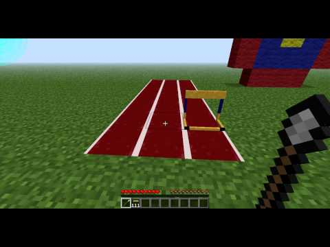 Minecraft Mod Showcase: Olympics Mod Version: Alpha
