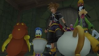 KINGDOM HEARTS HD 1.5 + 2.5 ReMIX — Familiar Faces and Places