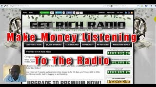 Get rich radio review | Are they just blowing smoke