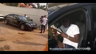 WATCH: Shatta Wale fulfills his promise, gifts two of his loyal fans a car each