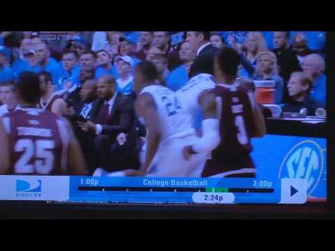 Kentucky PG John Wall owns Rick Stansbury in second half of 2010 SEC Men's Basketball Championship game in Nashville, TN (3.14.10)