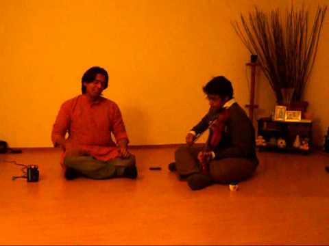 Vathapi Ganapathim - Hamsadhwani part2 - Sandeep Kalathimekkad...
