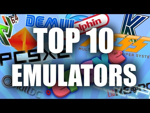 Top 10 Emulators for PC - 2016