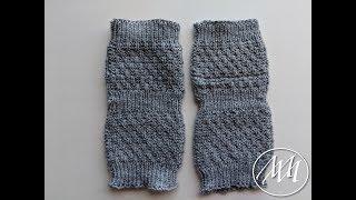 Knitted Yoga Socks using Magic Loop