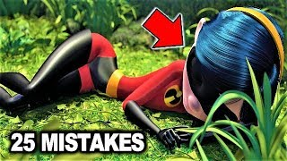 💥 25 BIGGEST MISTAKES in THE INCREDIBLES